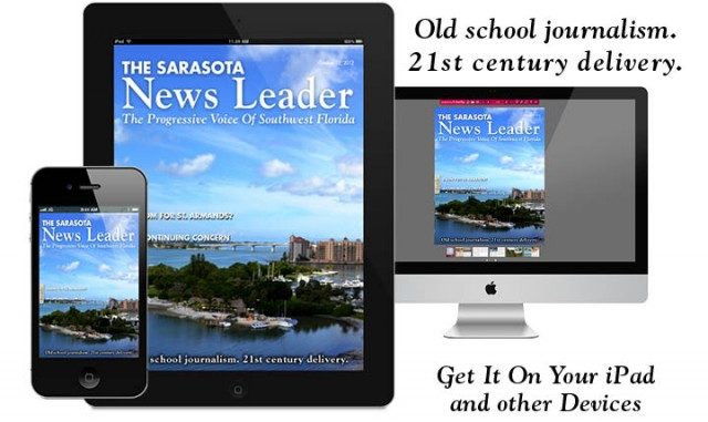 Click on this image to go to the latest edition of The Sarasota News Leader