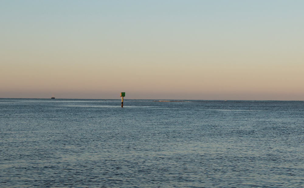 Boaters and others in the community have worried about how navigation in Big Sarasota Pass might be affected if the shoal is dredged. Photo by Rachel Hackney