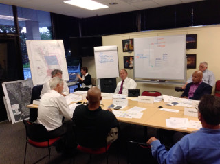 A committee worked over months in 2013 to craft a proposal for a new Downtown Sarasota Community Redevelopment Agency. News Leader archive photo