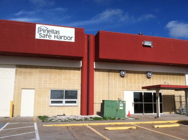 Pinellas Safe Harbor is the homeless shelter in Clearwater. Photo courtesy of Pinellas Safe Harbor