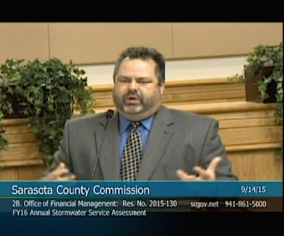 John Herin Jr. addresses the County Commission on Sept. 14. News Leader photo