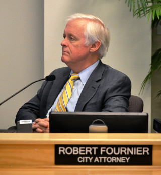 City Attorney Robert Fournier. File photo
