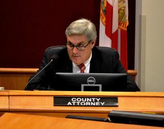 County Attorney Stephen DeMarsh. File photo