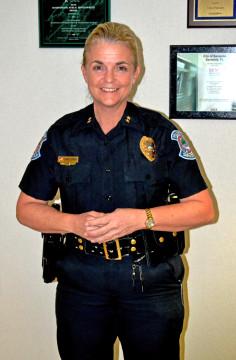 Chief Bernadette DiPino. File photo