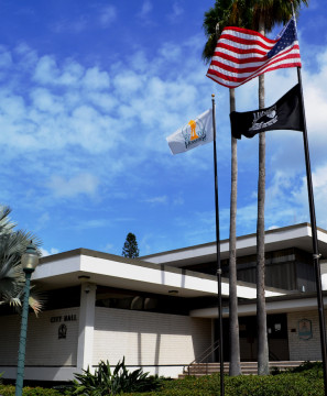 Sarasota City Hall is on First Street in downtown Sarasota. File photo