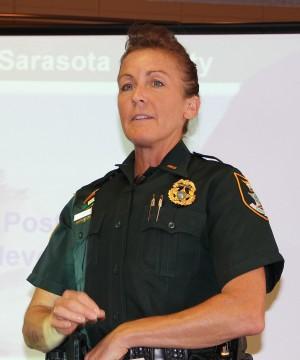 Lt. Debra Kaspar of the Sarasota County Sheriff's Office. File photo