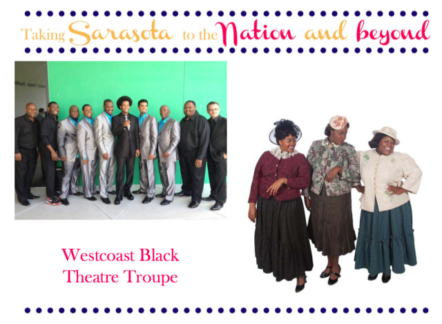 The Westcoast Black Theatre Troupe won national recognition again this year. Image courtesy Sarasota County