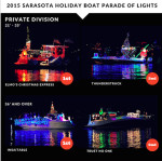 2015 Sarsaota Boat parade private division winners