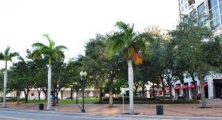 Five Points Park is in downtown Sarasota. File photo