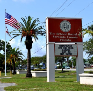 The Sarasota County School District offices are at The Landings in Sarasota. File photo