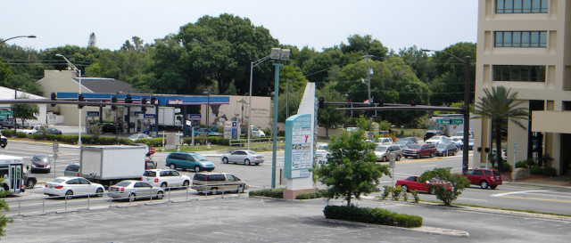 Fruitville Road's intersection with U.S. 301 is busy on a late spring day. File photo