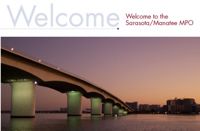 The MPO website homepage features photos from the region. Image from www.mympo.org