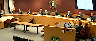The Planning Commission sits in session on Jan. 21. News Leader photo