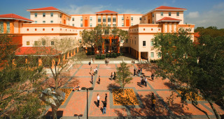 The Ringling College of Art + Design is in north Sarasota. Image courtesy Ringling College