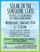 Solar in sunshine State poster via scgov