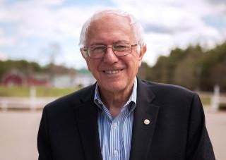 Presidential candidate Bernie Sanders. Image from berniesanders.com