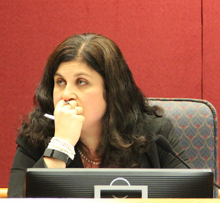 Commissioner Christine Robinson. Rachel Hackney photo