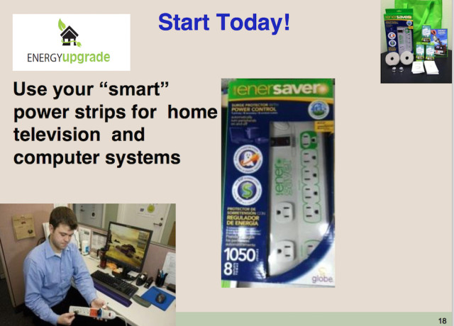 Power strips are an energy-saving device. Image courtesy Sarasota County