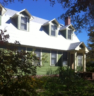 Another view of the house shows the gables more clearly. Contributed photo by Diana Hamilton