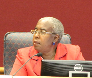 Commissioner Carolyn Mason. File photo