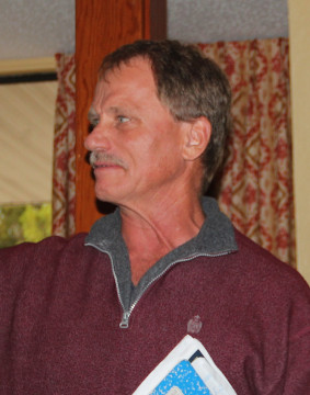 George Tatge reminisces about past SKA discussions during the Jan. 7 meeting. Rachel Hackney photo
