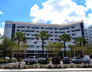 Sarasota Memorial opened its courtyard tower in 2013. File photo