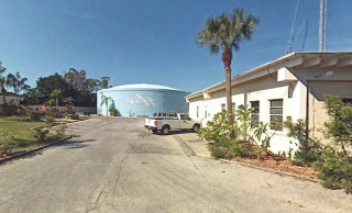 The Siesta Key Wastewater Treatment Plant is at the end of Shadow Lawn Drive. Image from Google Maps