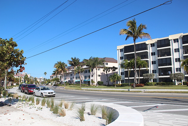 The Sunset Royale complex stands across Beach Road fromSiesta Public Beach. File photo