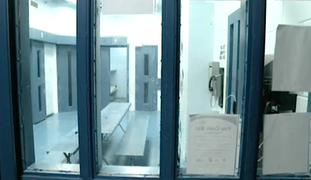 Line-of-sight issues are a major concern in the West Jail, Major Jeff Bell says. Image courtesy Sheriff's Office
