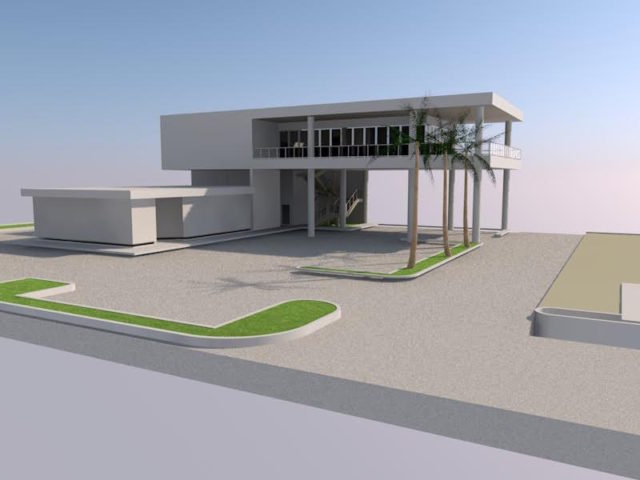 A rendering provided by architect Mark Smith shows the design of the new Daiquiri Deck Raw Bar. Image courtesy Mark Smith