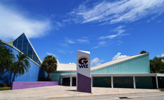 The former G.WIZ science museum stood at 1001 Boulevard of the Arts in Sarasota. File photo
