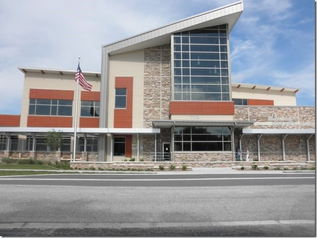 Gulf Gate Library is on Curtiss Avenue in Sarasota. Photo from the Friends of Gulf Gate Library website
