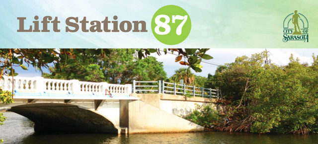 Project details are provided on the City of Sarasota's webpage dedicated to Lift Station 87. Image courtesy City of Sarasota