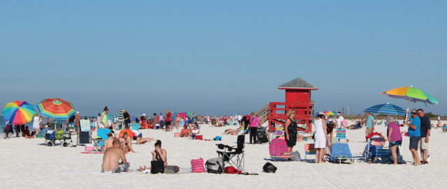 Siesta Key businesses continue to lead the way in the collection of the Tourist Development tax revenue. File photo