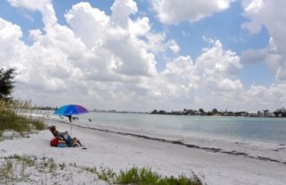 Ted Sperling Park is on South Lido Beach. Photo courtesy Sarasota County