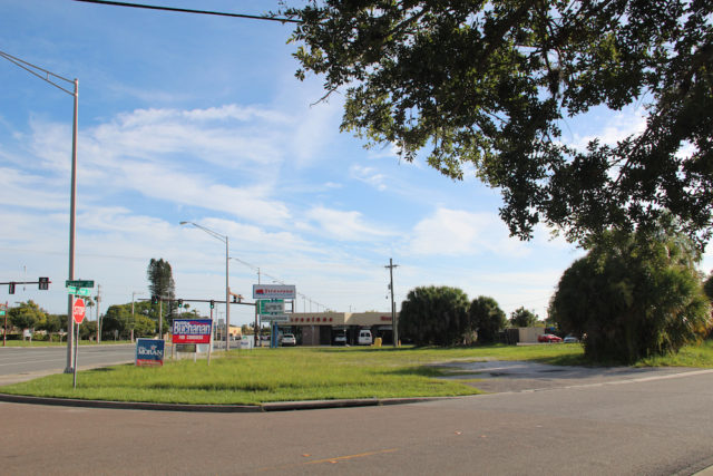 The project site is at the intersection of Couver Drive and Stckney Point Road. File photo