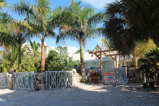 The house at 95 Avenida Messina in Siesta Village has been the focal point of complaints this summer. Rachel Hackney photo