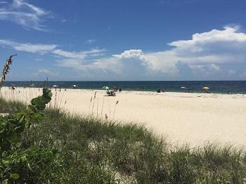 Nokomis Beach is located on Casey Key Road. Photo courtesy Sarasota County