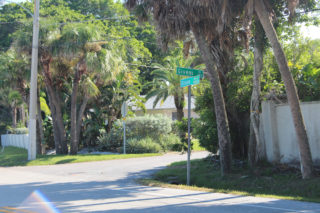 The Givens Street intersection is across from a vacant parcel on Ocean Boulevard. Rachel Hackney photo