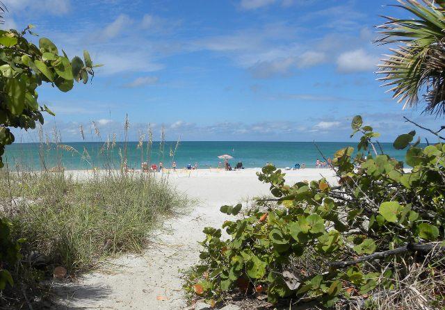 Manasota Beach will be the site of the fishing tournament. Photo courtesy Sarasota County