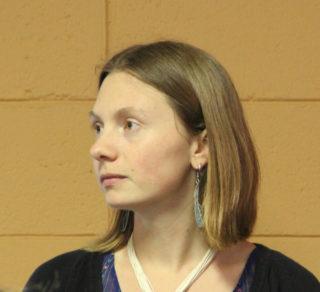 Alyssa Vinson. Rachel Hackney photo