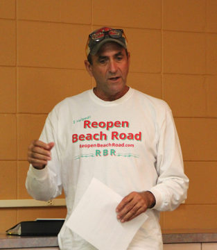 Michael Cosentino addresses the Siesta Key Association on Oct. 6. Rachel Hackney photo