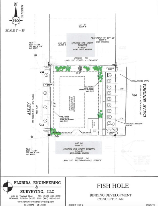 This proposed binding concept plan was filed with notice of the workshop. Image courtesy Sarasota County