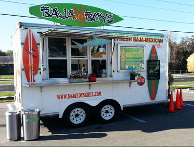Baja Boys is a popular food truck in Sarasota County. Image from the business website