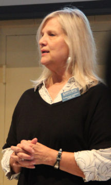 SKA Second Vice President Catherine Luckner. Rachel Hackney photo