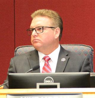 Commissioner Mike Moran. Rachel Hackney photo
