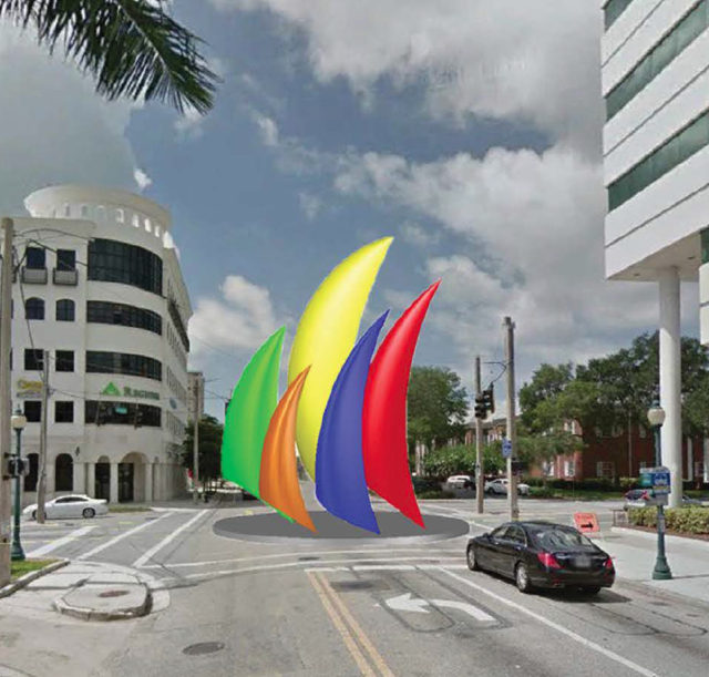 Horizon was one of the finalists. Image courtesy City of Sarasota