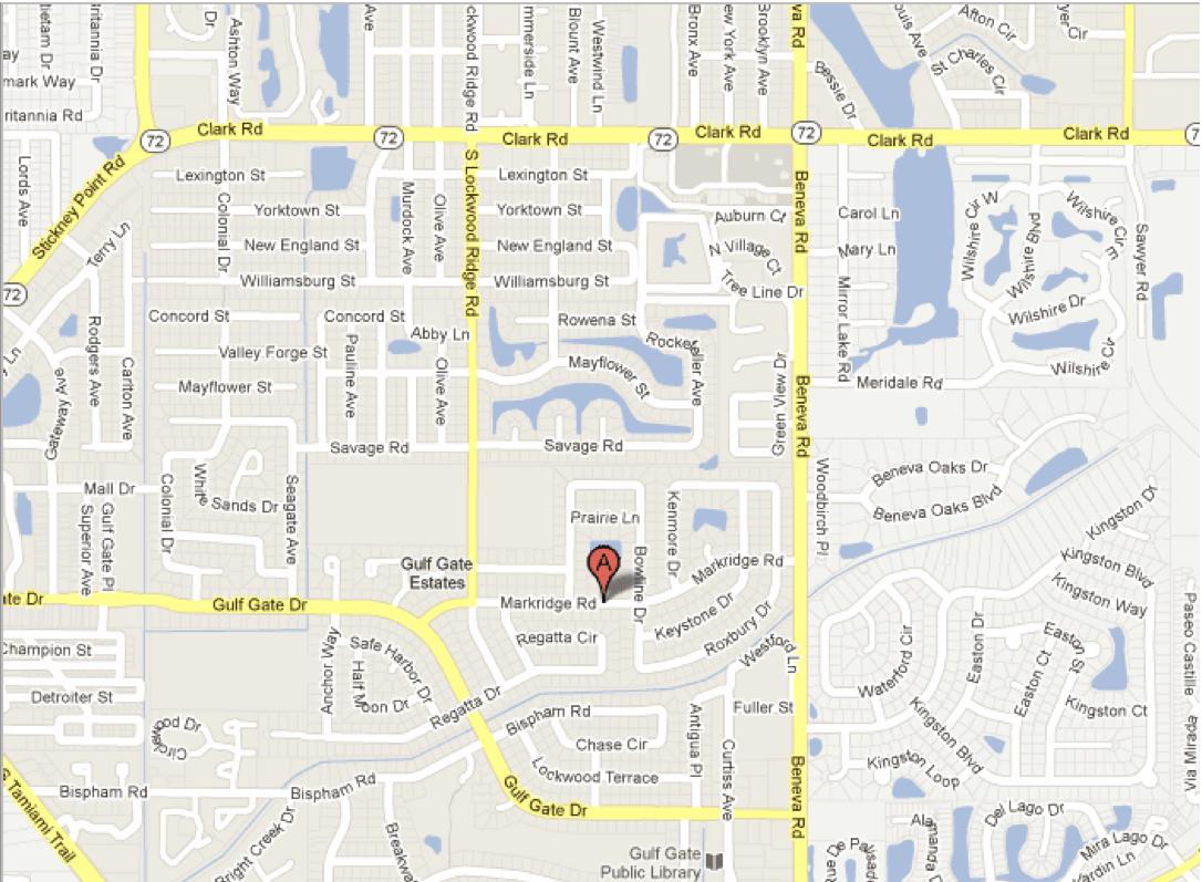 Markridge Road, Sarasota, FL – Google Maps