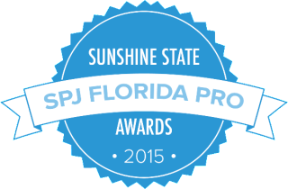 SPJ Sunshine State Awards logo