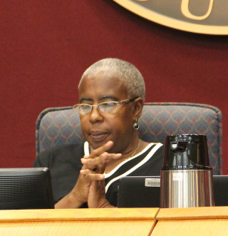Commissioner Carolyn Mason. Rachel Hackney photo